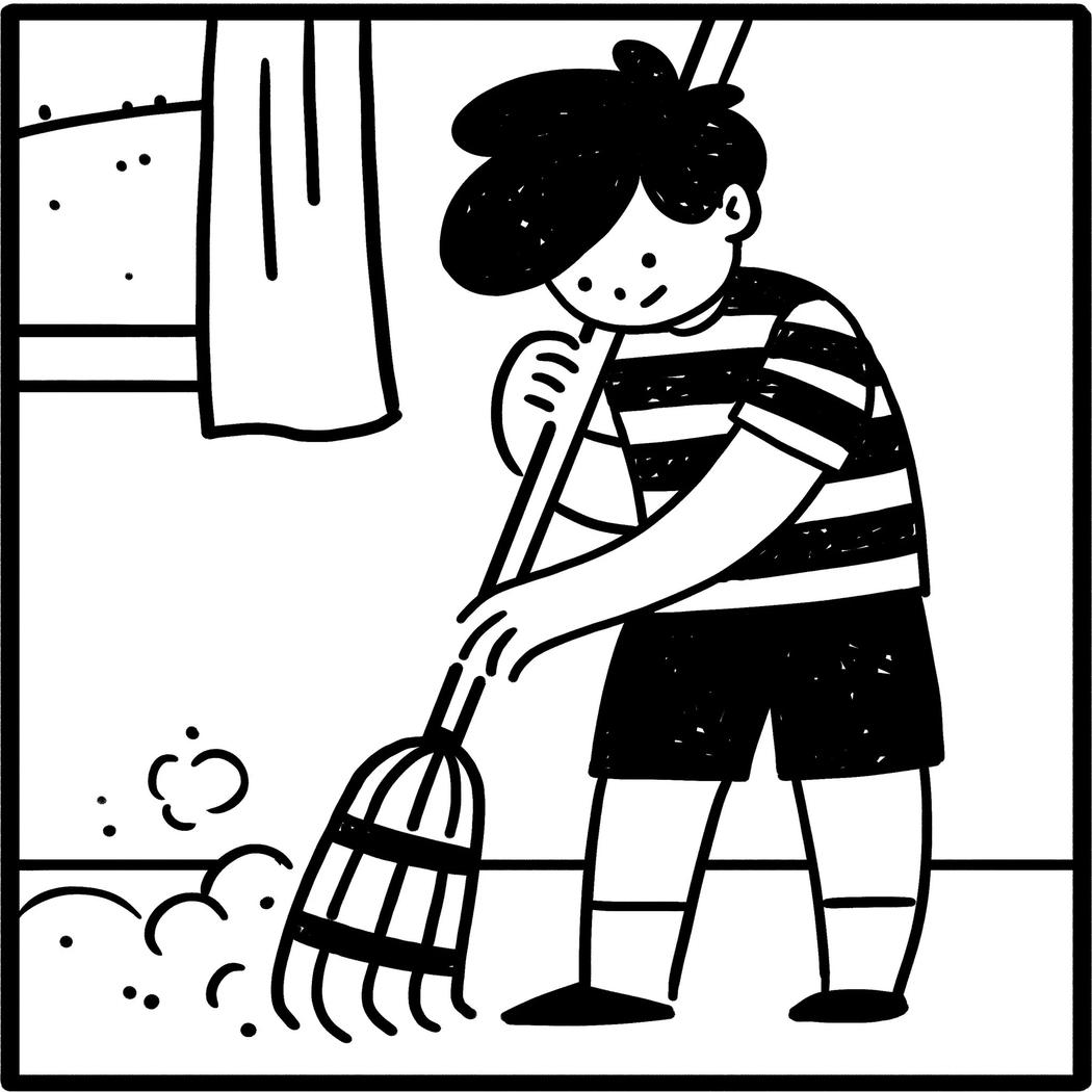 Dentro de la casa clipart black and white jpg library download La desigualdad de género empieza con las tareas de la casa ... jpg library download