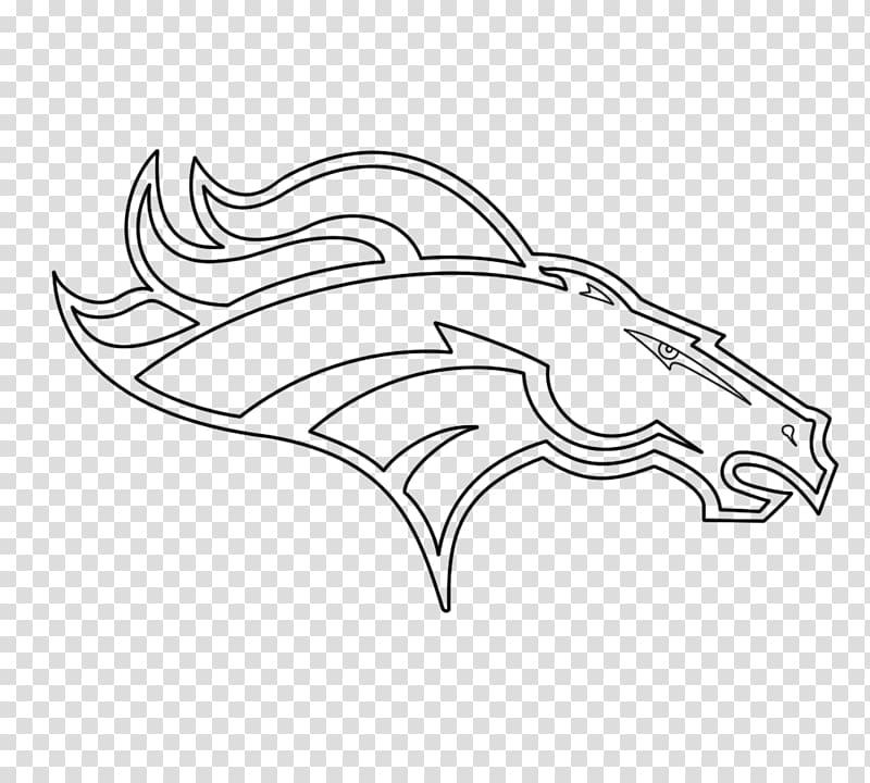 Denver broncos football clipart black and white svg Boise State Broncos football Denver Broncos NFL Cleveland Browns ... svg