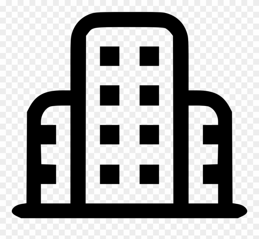 Department clipart svg black and white Office Building Comments - Department Icon Png Clipart (#1562878 ... svg black and white
