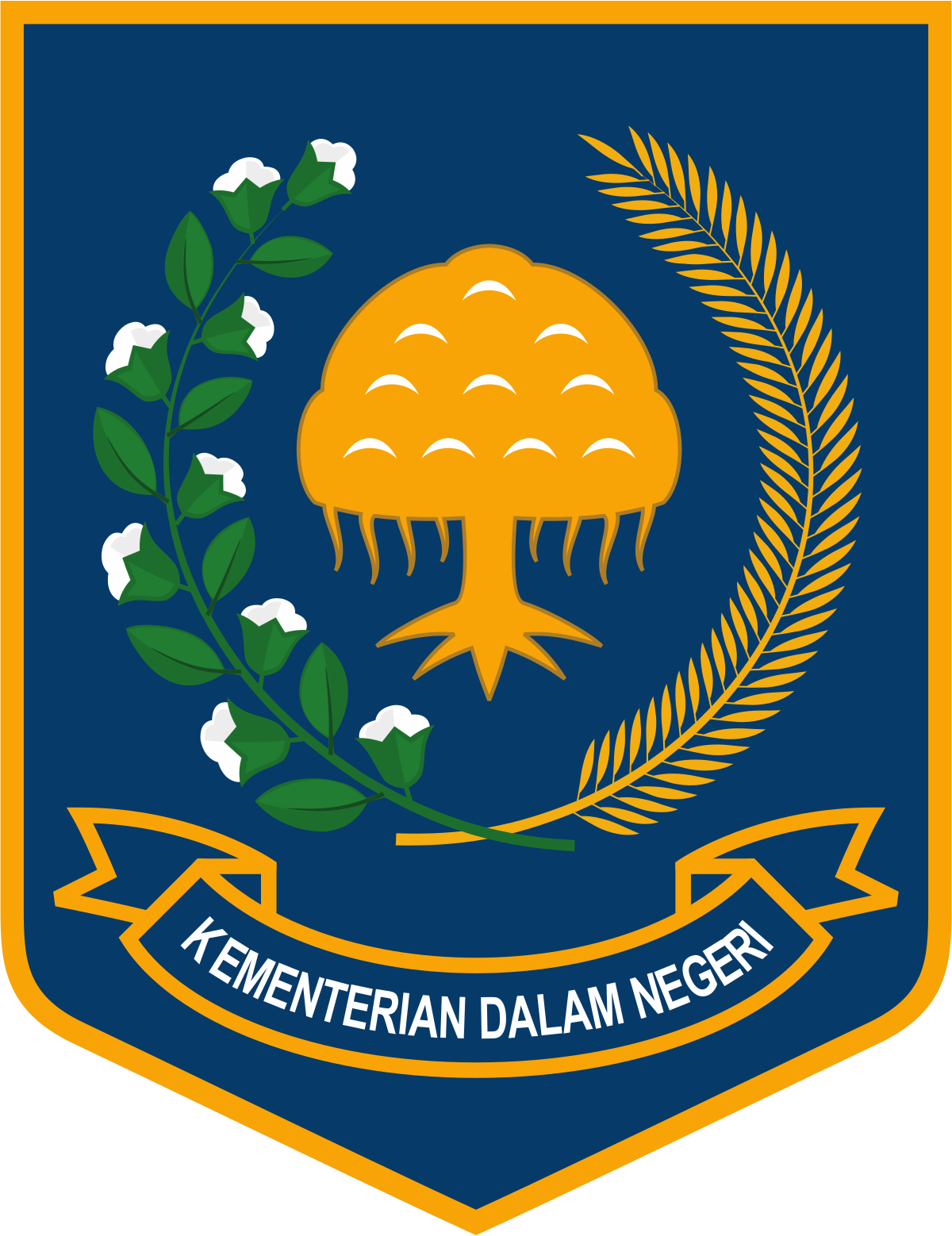Department for community development and religion clipart clip royalty free Ministry of Home Affairs (Indonesia) - Wikipedia clip royalty free