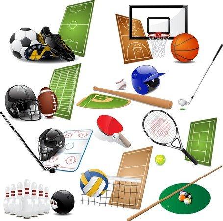 Deportes clipart jpg transparent stock Imágenes clip art y gráficos vectoriales Equipo de deportes 05 ... jpg transparent stock