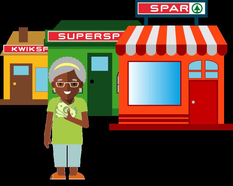 Money clipart side view jpg freeuse SPAR - Services - Money Transfers jpg freeuse