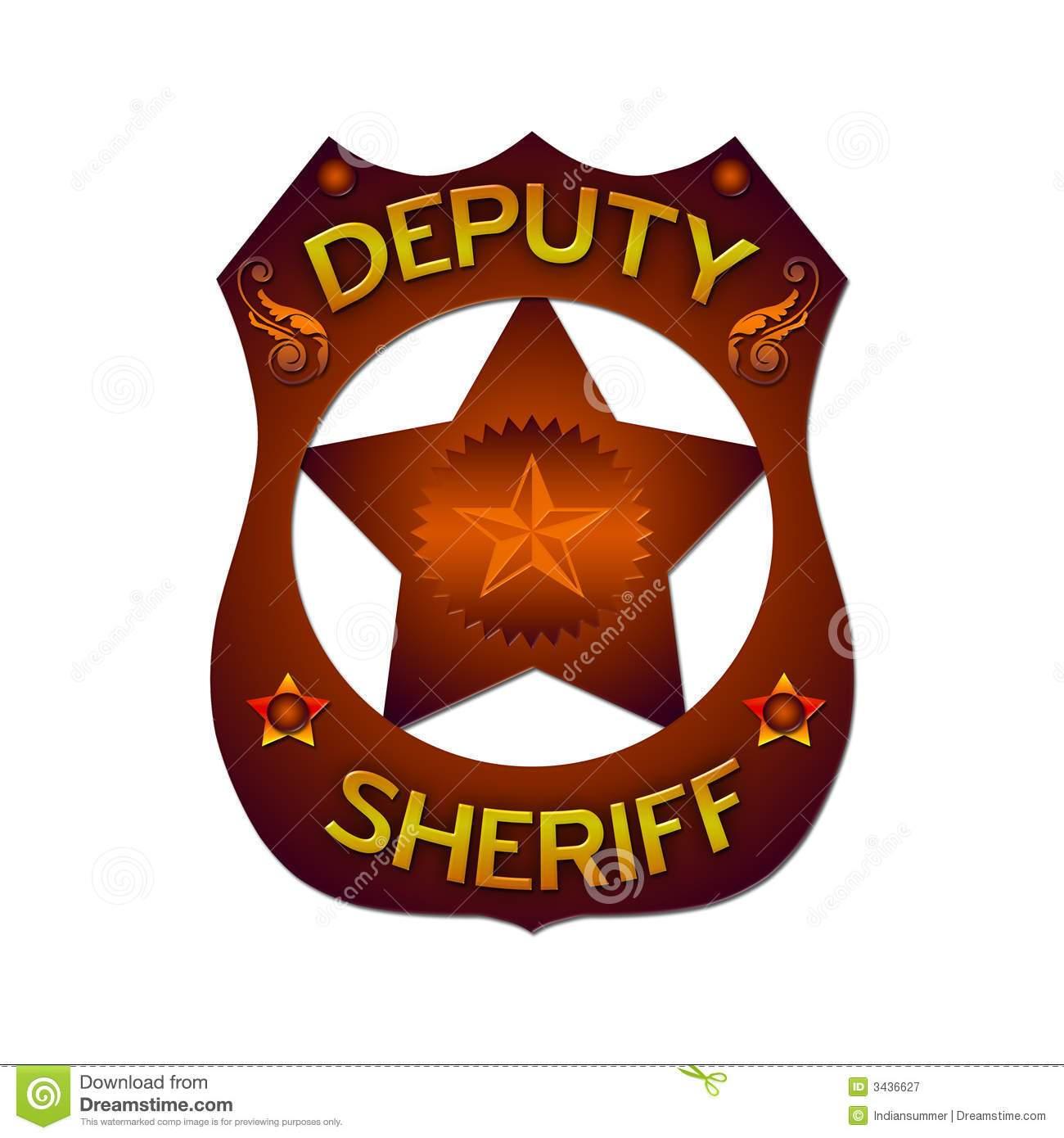 Deputy badge clipart clipart transparent stock Deputy sheriff badge clipart 5 » Clipart Portal clipart transparent stock