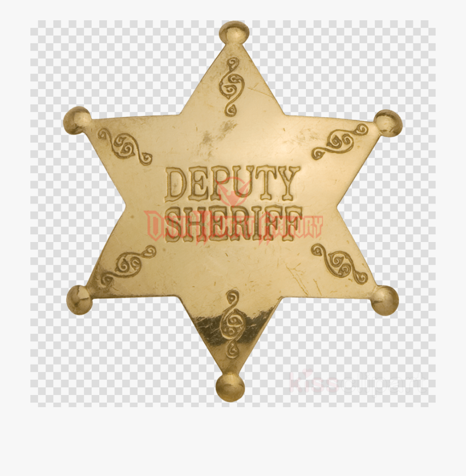 Deputy badge clipart graphic free Badge, Police, Metal, Transparent Png Image & Clipart ... graphic free