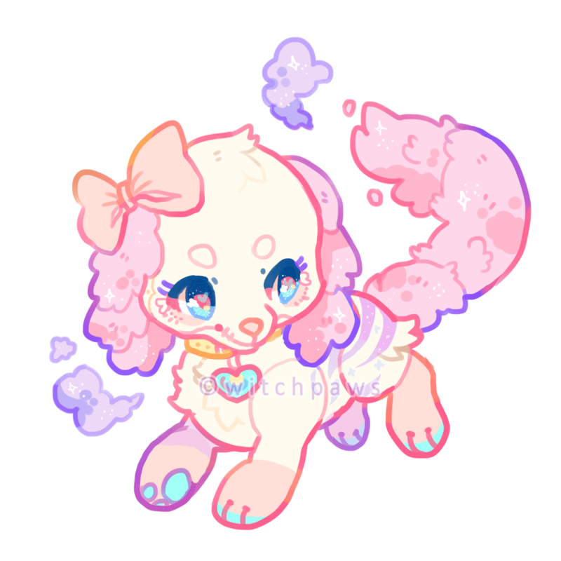 Bonbon mini by witchpaws. Deputy dog clipart