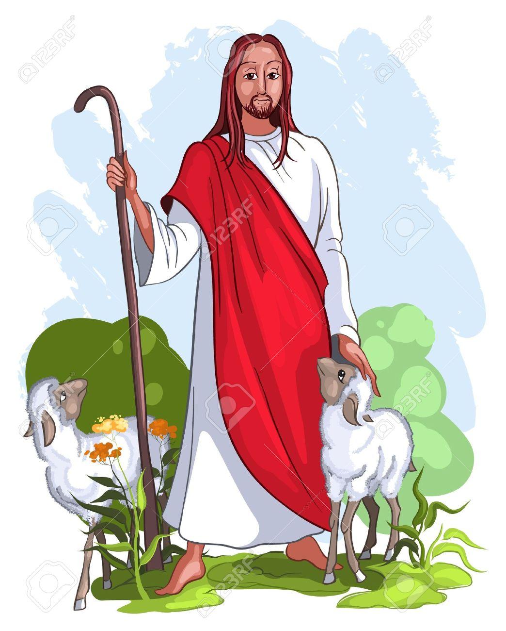 Der gute hirte clipart svg royalty free stock Ich Bin Der Gute Hirte, Das Leben Für Die Schafe (John 10: 11 ... svg royalty free stock