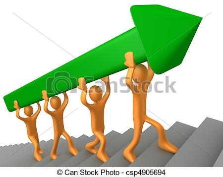 Der weg ist das ziel clipart. Team and stock illustrations