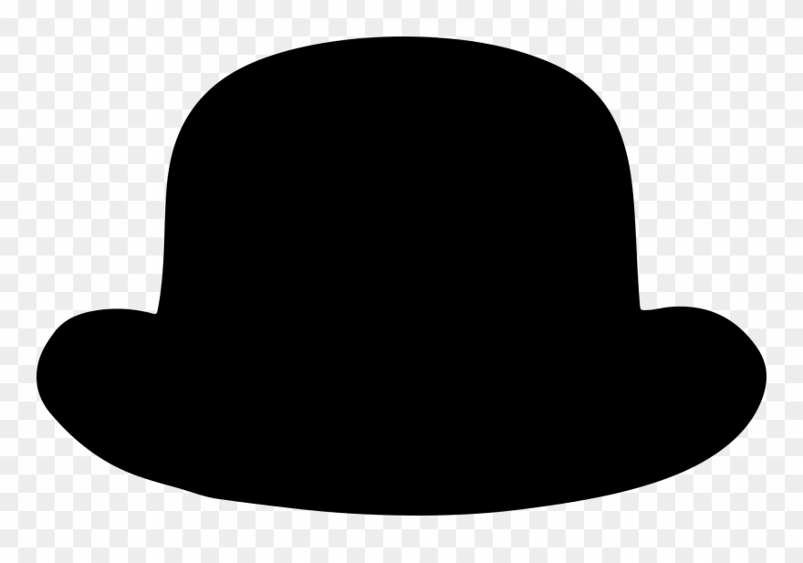 Derby hat clipart picture royalty free download Man\'s Disguise Hat - Bowler Hat Clipart Png Transparent Png ... picture royalty free download