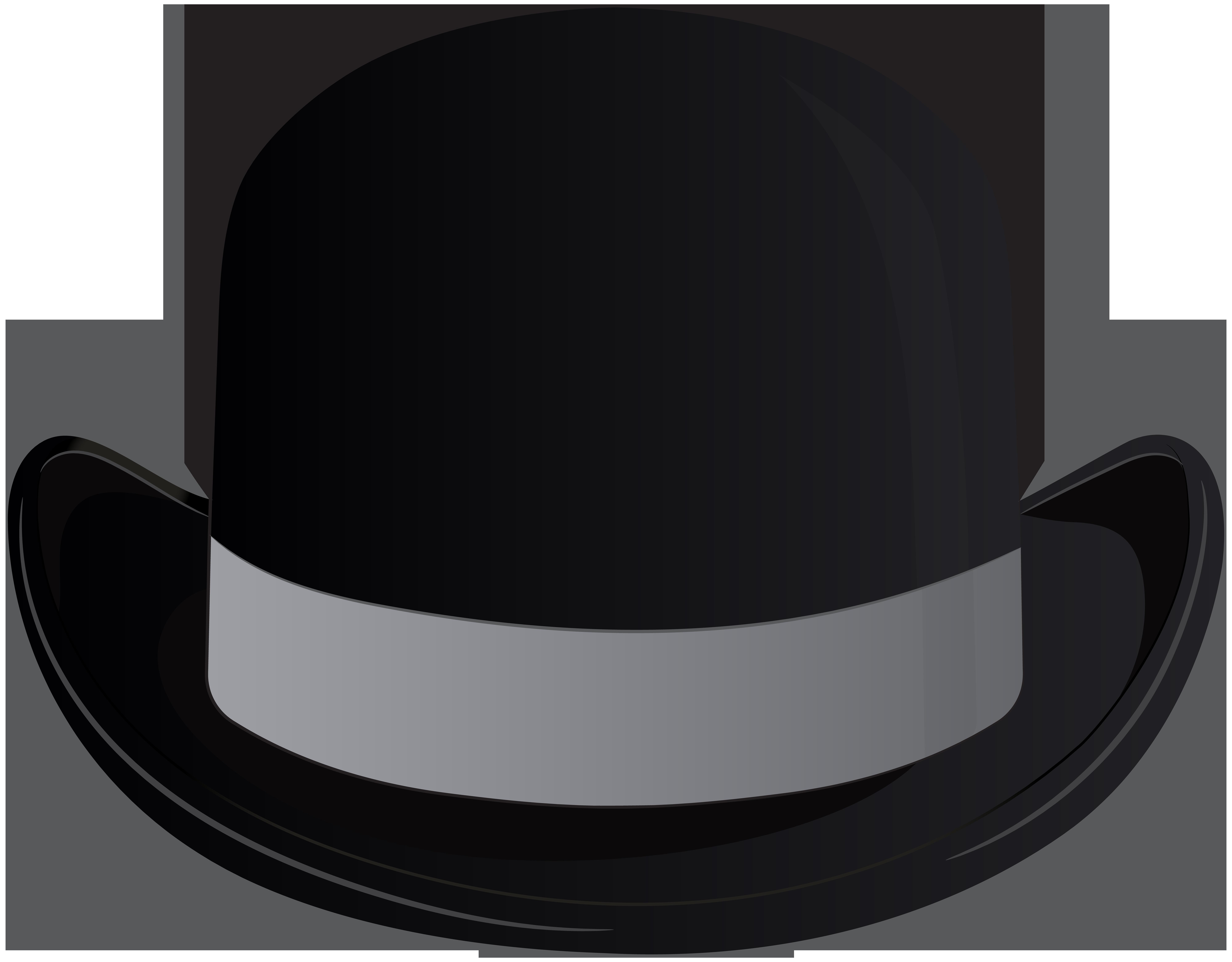 Hat clipart png png freeuse download Bowler Hat Transparent Clip Art PNG Image | Gallery ... png freeuse download