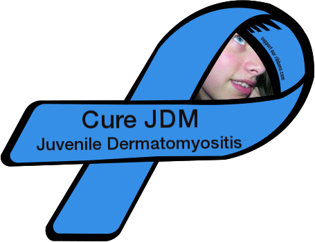 Dermatomyositis clipart image free download Cure JDM / Juvenile Dermatomyositis - Custom Ribbon image free download
