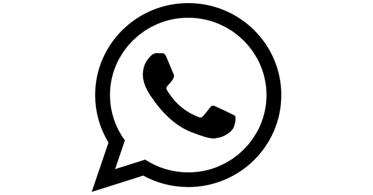 Descargar logo de whatsapp clipart clip freeuse Whatsapp logo - Free web icons clip freeuse