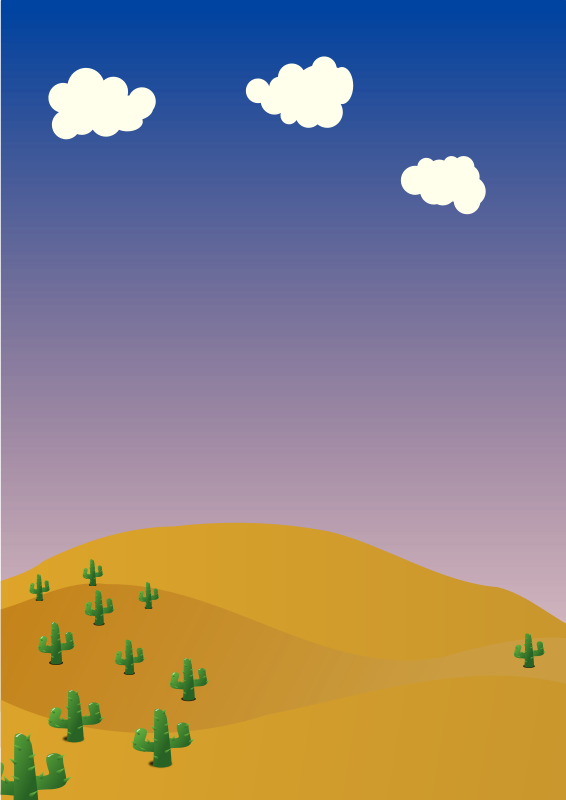 Desert background clipart clipart royalty free stock Free Clipart: Desert background   hatso1 clipart royalty free stock