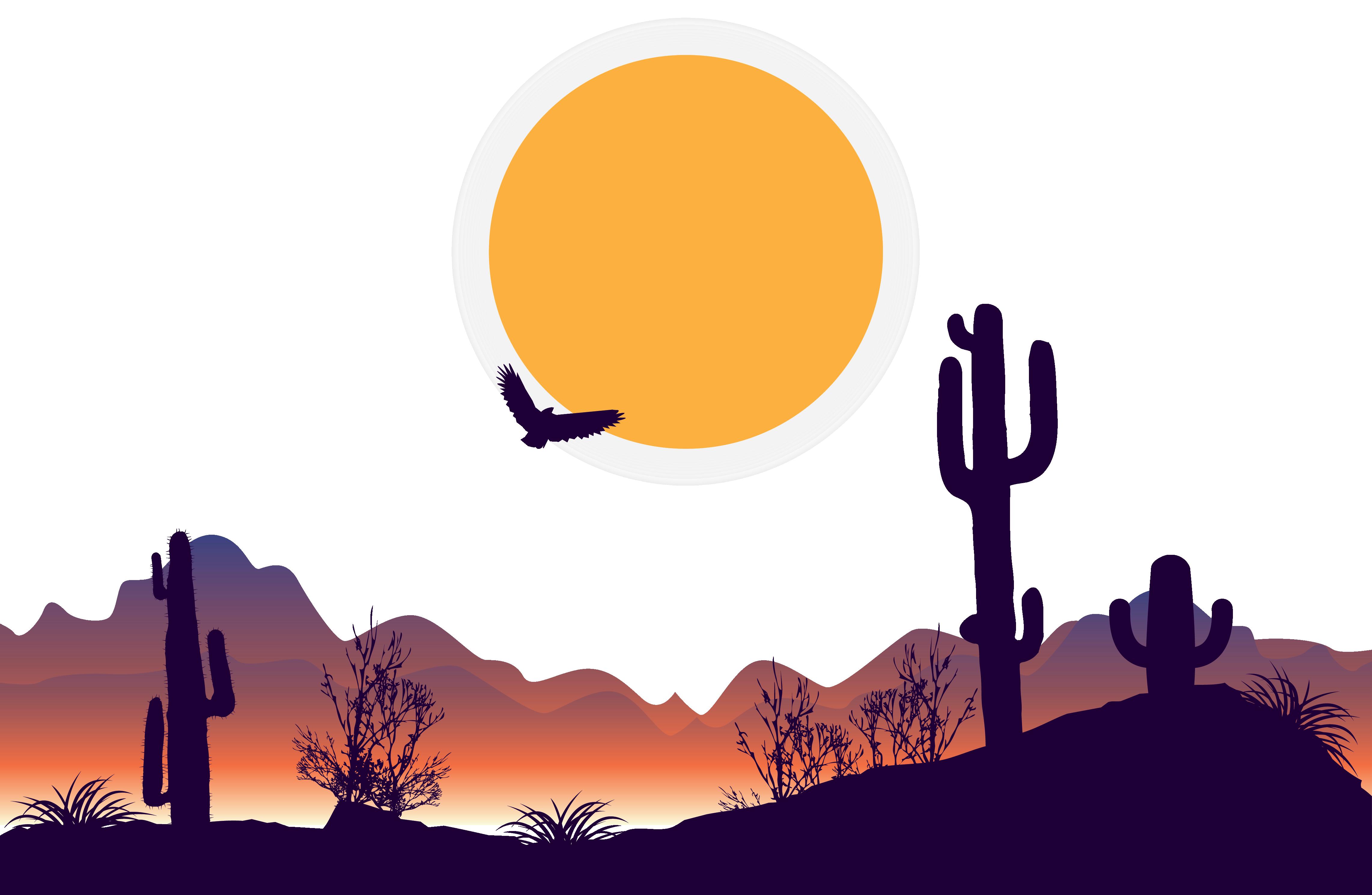 Desert background clipart vector freeuse download Desert PNG Clipart Background   PNG Mart vector freeuse download
