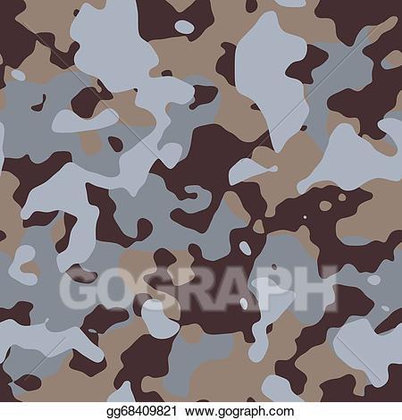 Desert camo clipart clipart freeuse download Stock Illustration - Desert camouflage. seamless tileable texture ... clipart freeuse download