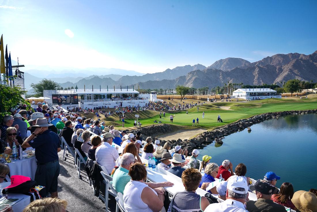 Desert classic golf tournament 2019 logo clipart graphic Desert Classic Fan Experience - DESERT CLASSIC graphic
