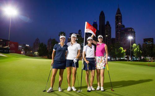 Desert classic golf tournament 2019 logo clipart graphic black and white download Omega Dubai Ladies Classic | graphic black and white download