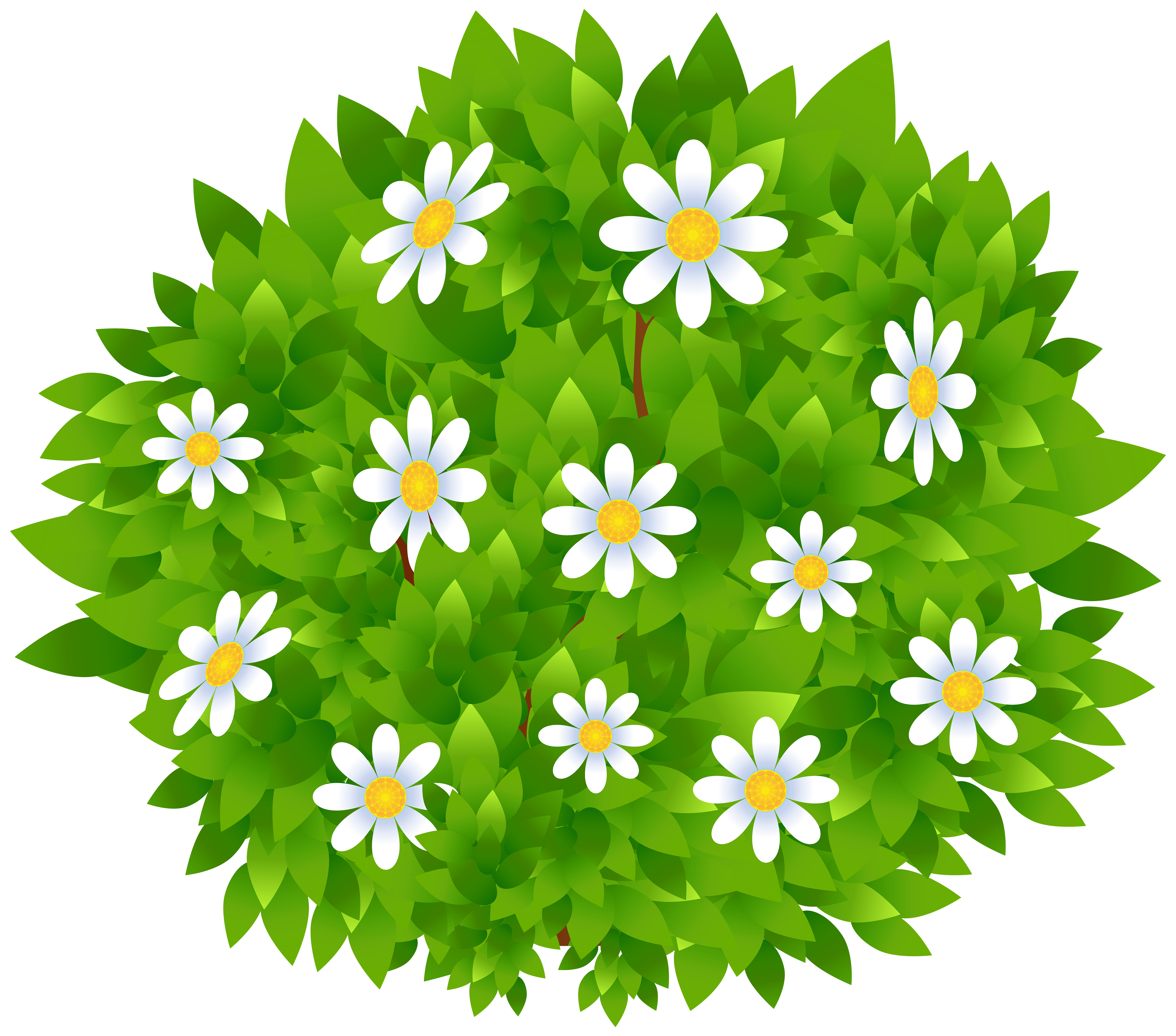 Flower bush clipart svg library stock Bush Clipart at GetDrawings.com   Free for personal use Bush Clipart ... svg library stock
