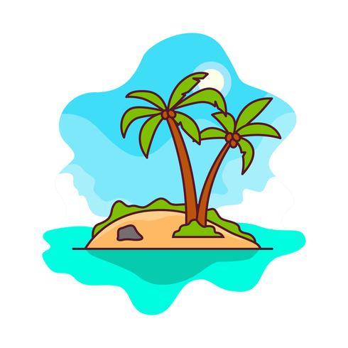 Desert island clipart free transparent download Free Vector Desert Island - Download Free Vector Art, Stock Graphics ... transparent download