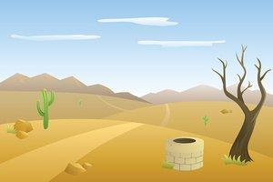 Desert road clipart png transparent library Landscape Hills Desert Day Road Mountains Illustration Vector stock ... png transparent library