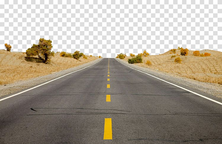 Desert road clipart image freeuse Gray asphalt road, Tarim River Taklamakan Desert Minfeng County ... image freeuse