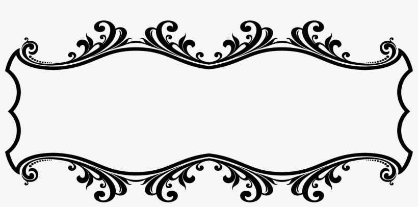 Design clipart hd stock Frames Illustrations Hd Images Ornamental Flourish - Border ... stock