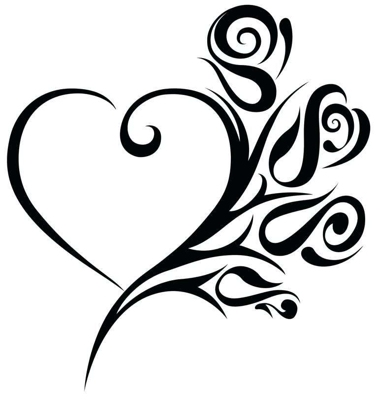 Wedding scroll heart clipart clip art royalty free stock Stitch Clipart   Free download best Stitch Clipart on ClipArtMag.com clip art royalty free stock