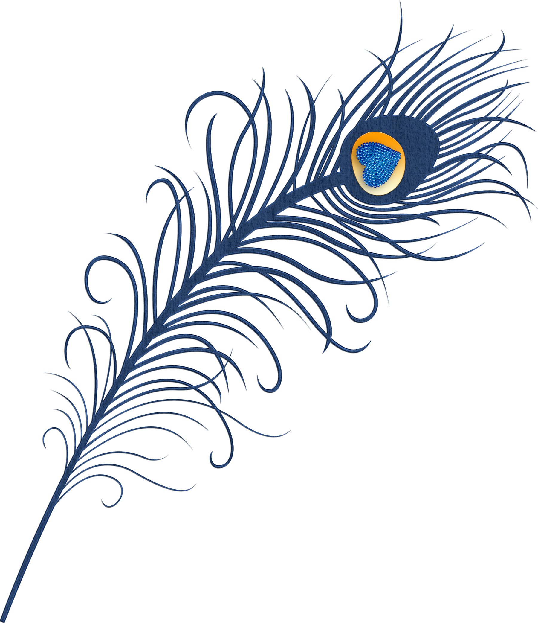 Designed turkey feathers clipart png library Peacock Feather Clipart at GetDrawings.com | Free for personal use ... png library