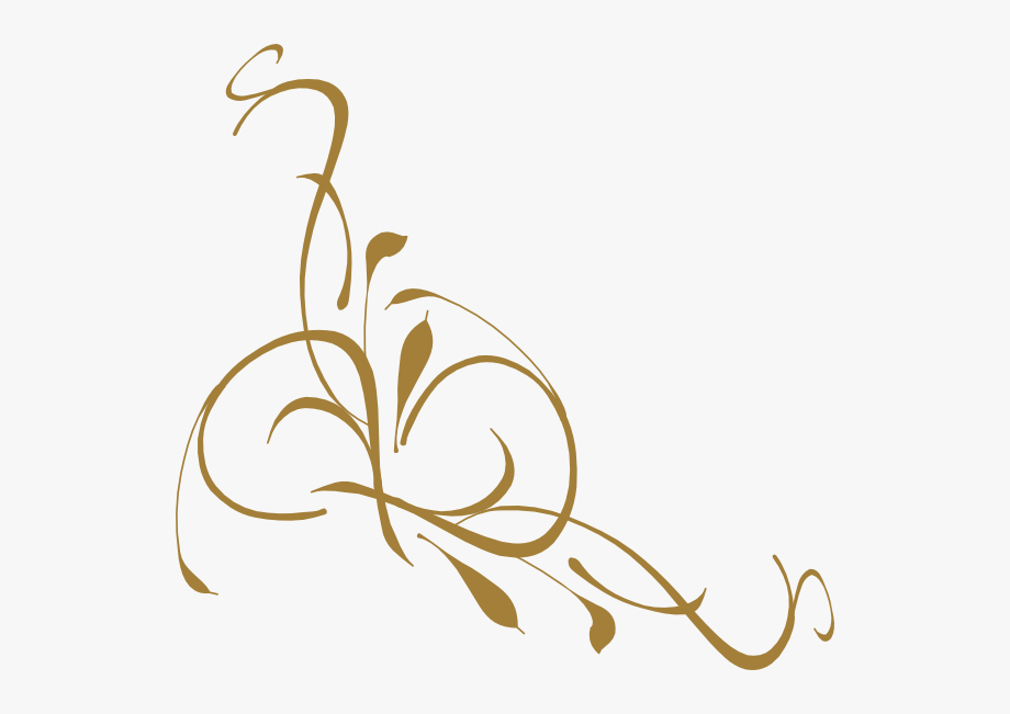 Free funeral program clipart banner royalty free download Gold Elegant Swirl Designs Clipart Bd2iff Clipart - Funeral Program ... banner royalty free download