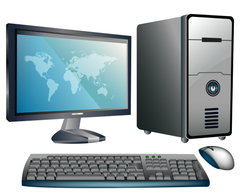 Desktop computers clipart picture transparent library Pin by Ariff Mohammed on Immense Computers | Desktop computers, Clip ... picture transparent library