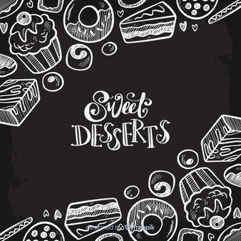Desserts clipart black and white free buffet graphic transparent download Dessert Vectors, Photos and PSD files | Free Download graphic transparent download