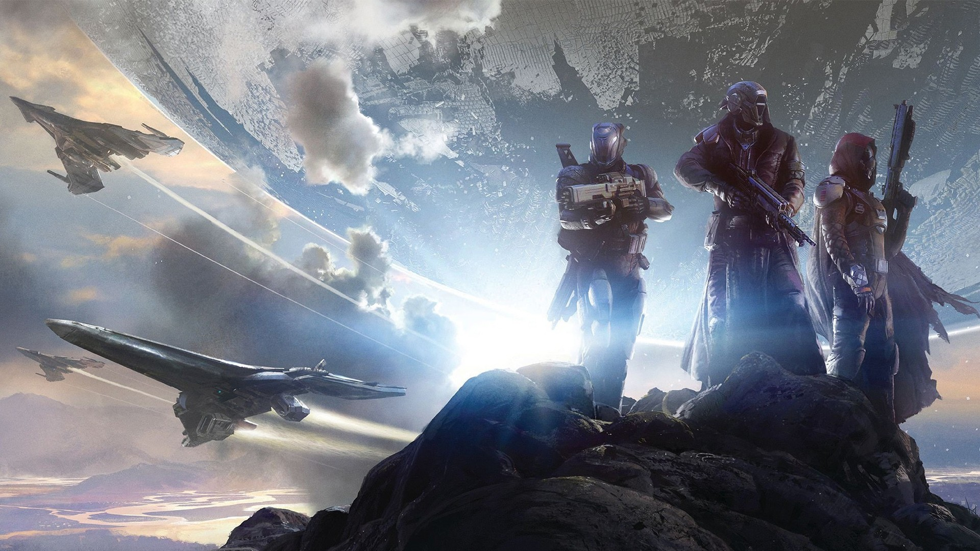 Destiny jpg library library Destiny' Wins BAFTA For Best Game Of 2014 jpg library library