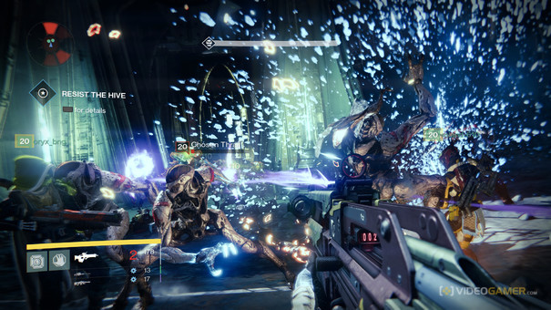 Destiny. Video game wikipedia gameplay