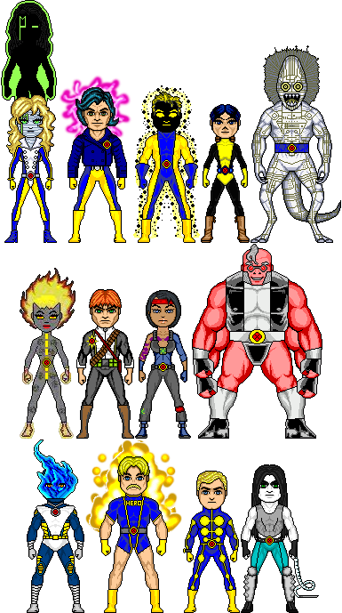 Destiny assassination patrol clipart graphic freeuse library I love Amalgams and Micro Heroes!! : The Asylum - Page 3 - The ... graphic freeuse library