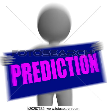 Destiny character clipart graphic free stock Clip Art of Prediction Sign Character Displays Future Forecast And ... graphic free stock