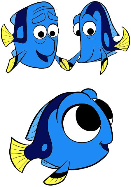 Destiny character clipart png free Finding Dory Clip Art Images 2 | Disney Clip Art Galore png free