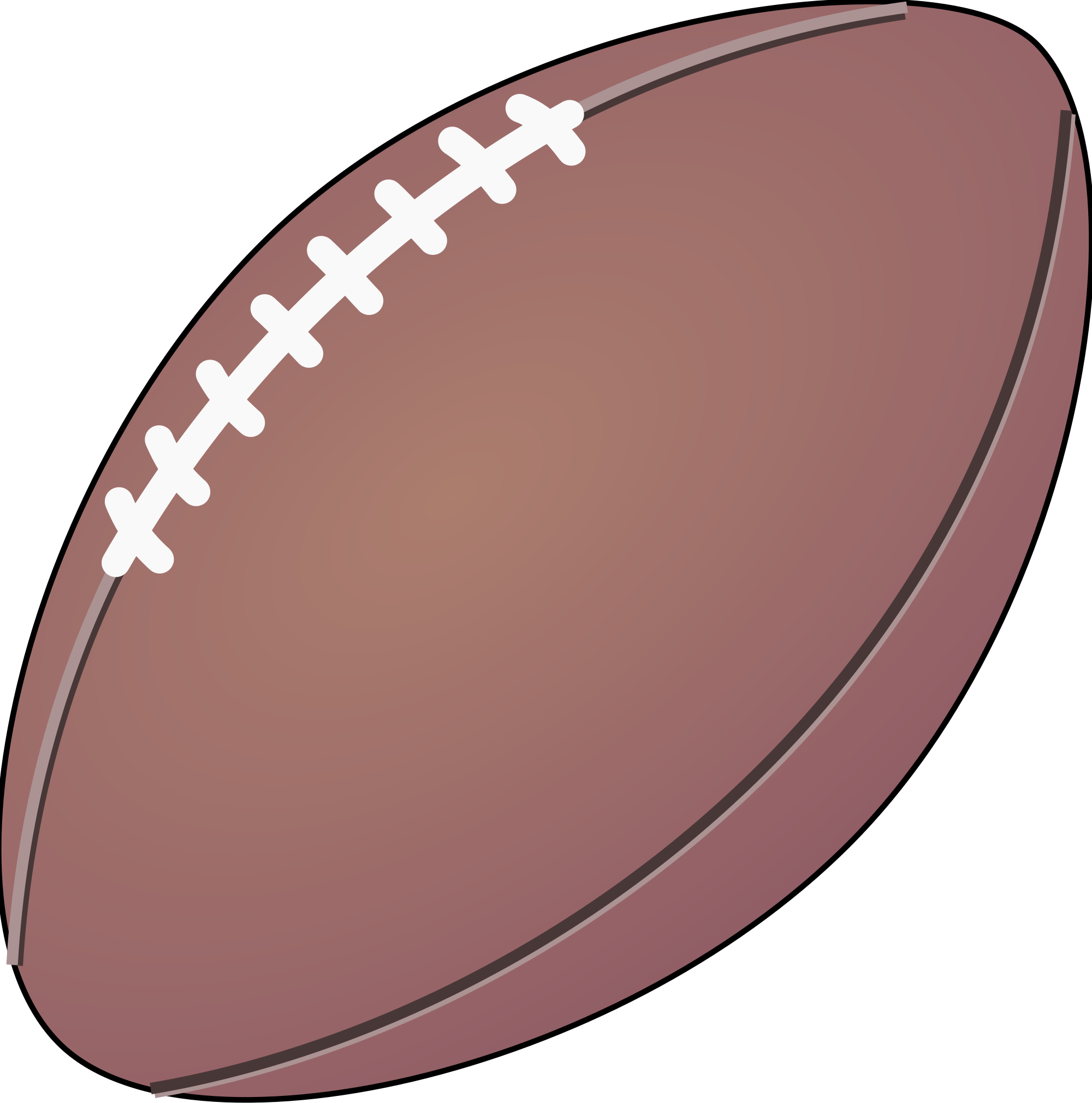 Pictures of footballs to. Destiny clipart