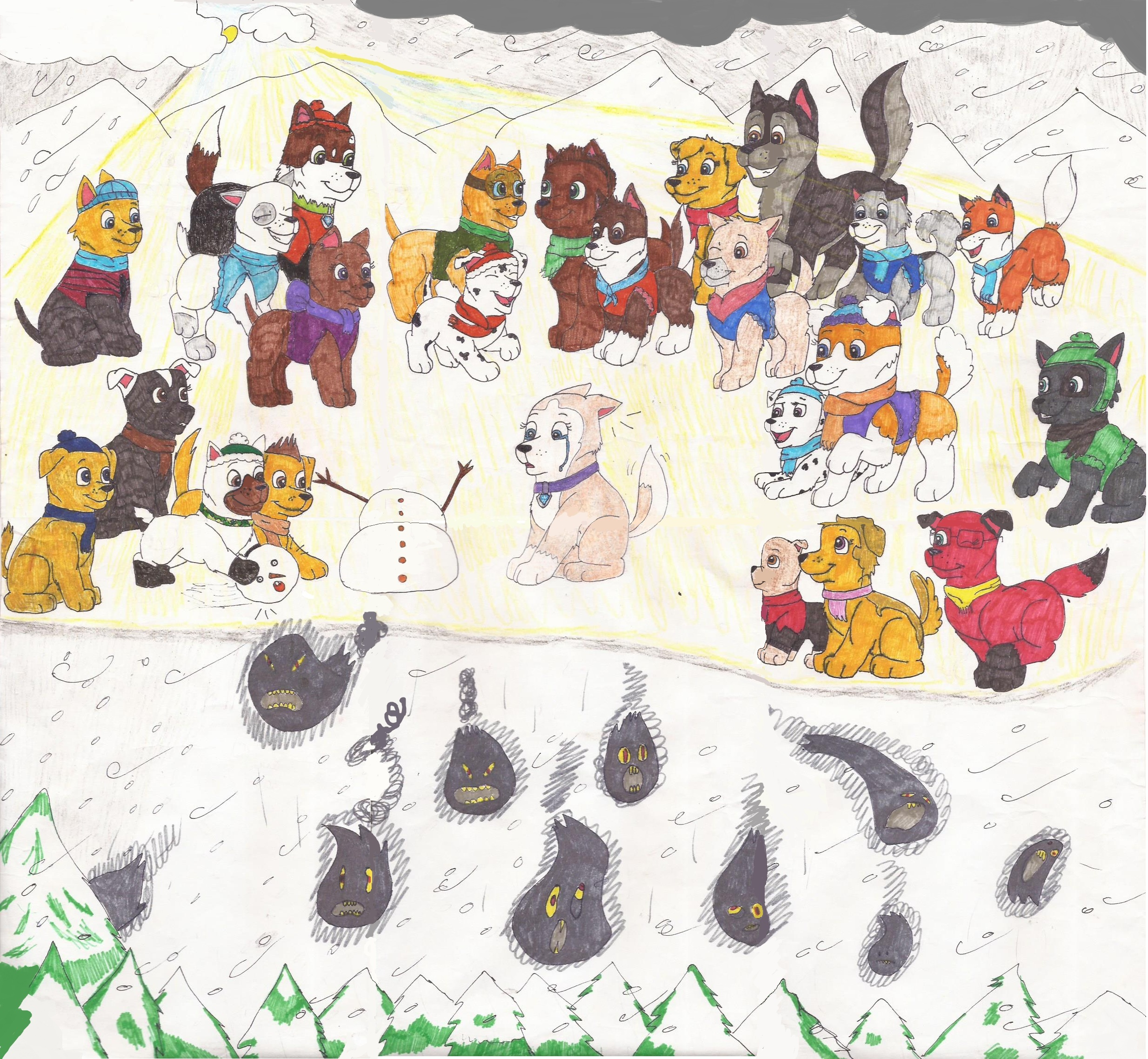 Destiny energy burst patrol clipart image freeuse library Tundra's Appreciation Day / Pups save a snow-pup | PAW Patrol ... image freeuse library