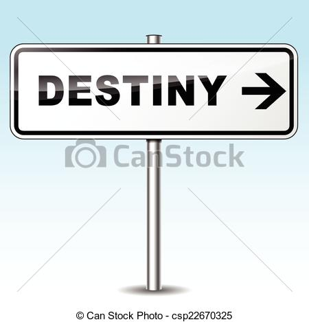 Destiny hd clipart png freeuse Vector Illustration of destiny sign - Illustration of destiny sign ... png freeuse