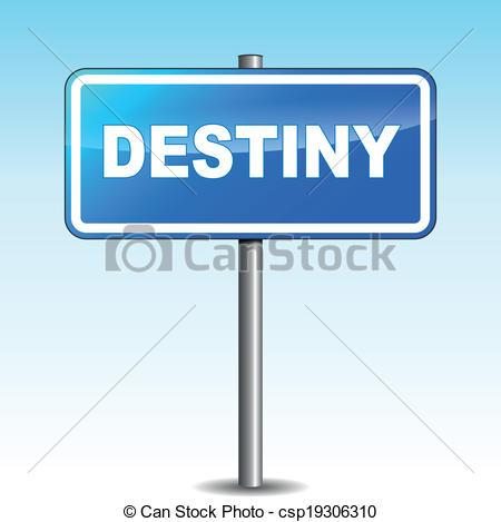 Destiny hd clipart graphic royalty free library Vector Clip Art of Vector destiny signpost - Vector illustration ... graphic royalty free library