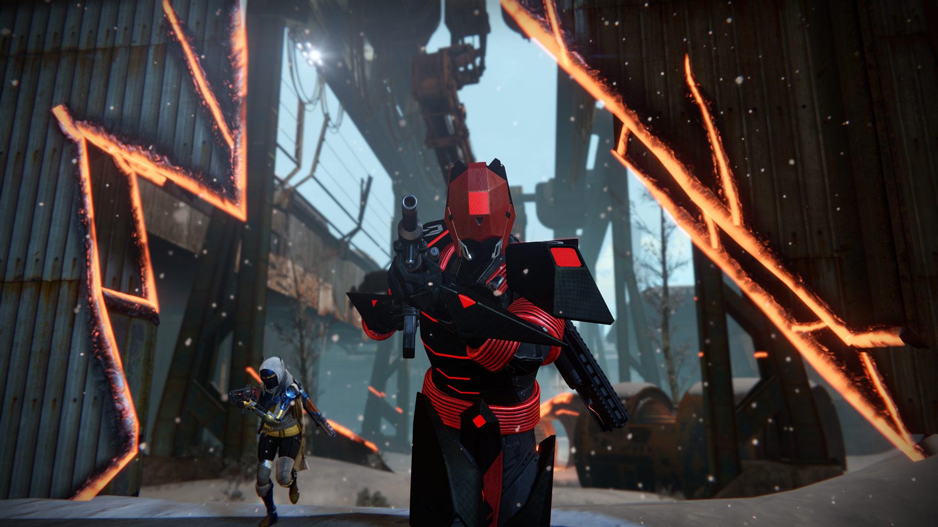 Destiny quarantine patrol clipart graphic black and white library Destiny: Rise of Iron Review graphic black and white library