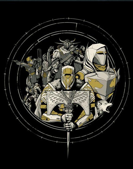 Destiny rise of iron clipart clip art free download Destiny - Rise of Iron Fanart | Destiny - Become Legend ... clip art free download