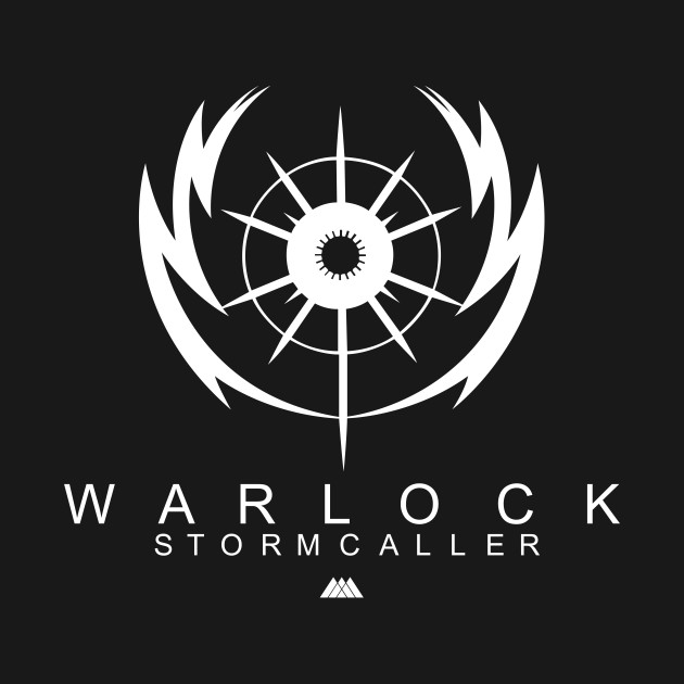 Arc damage stormtrance subclass. Destiny warlock stormcaller logo clipart