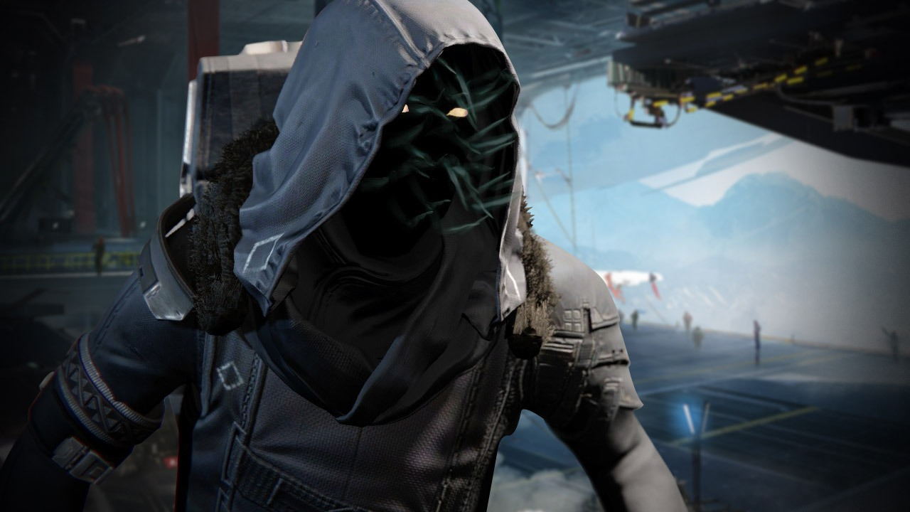 Destiny xur image black and white Destiny: Xur weapons, gear, and location, January 15 - 17. The ... image black and white