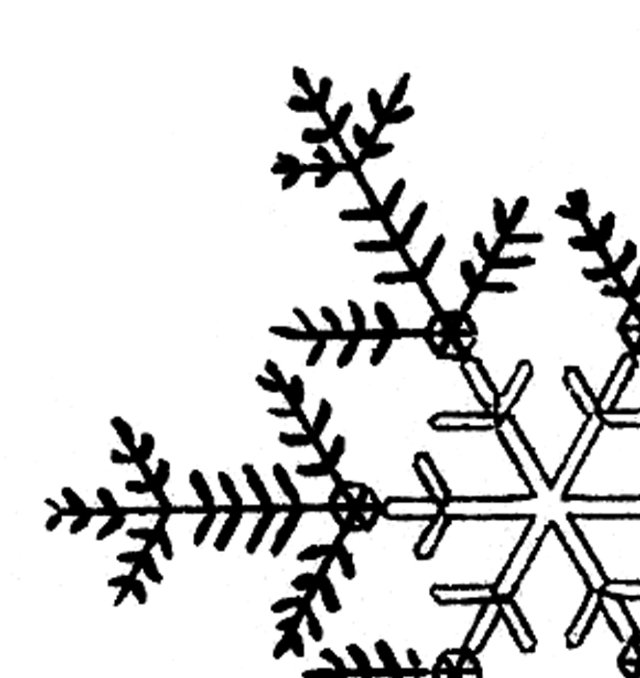 Detail snowflakes text clipart black and white transparent library Free Snow Flake Art, Download Free Clip Art, Free Clip Art on ... transparent library