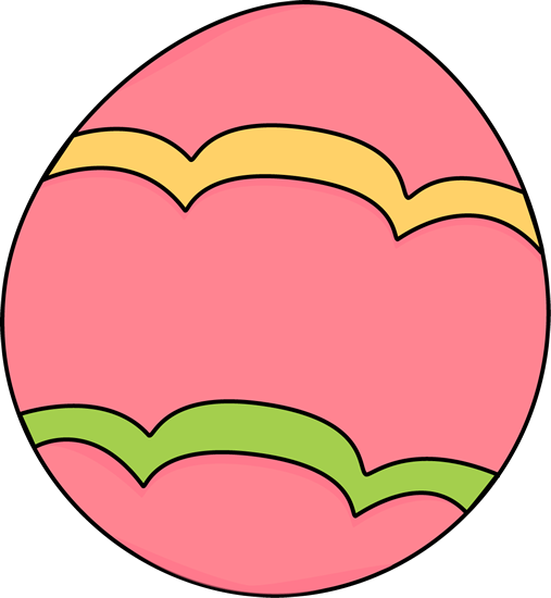 Clipartfest pink decorated. Detailed easter egg clipart