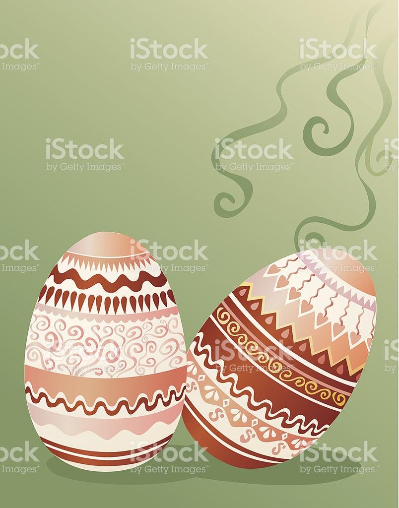 Detailed easter egg clipart png transparent stock Detailed Easter Eggs stock vector art 479519379 | iStock png transparent stock
