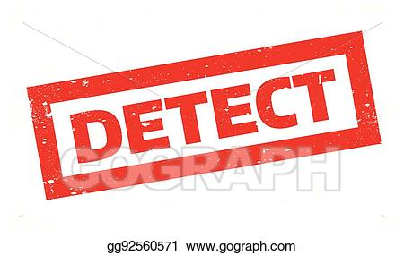 Detect clipart free stock EPS Illustration - Detect rubber stamp. Vector Clipart gg92560571 ... free stock