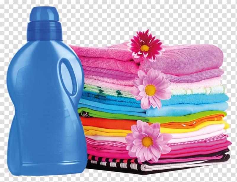 Detergents clipart picture royalty free Assorted textiles , Laundry Detergent Fabric softener Cleaning ... picture royalty free