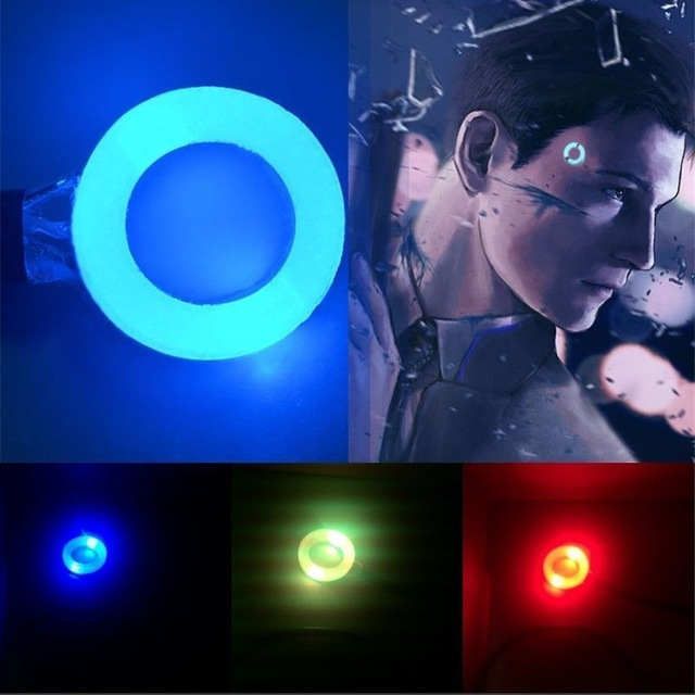 Detroit become human led clipart clipart transparent US $13.99  DBH Detroit Become Human Connor Kara Head Temple RK800 Flash Led  Status Light Props Cosplay USB CHARGE Drop Shipping-in Boys Costume ... clipart transparent