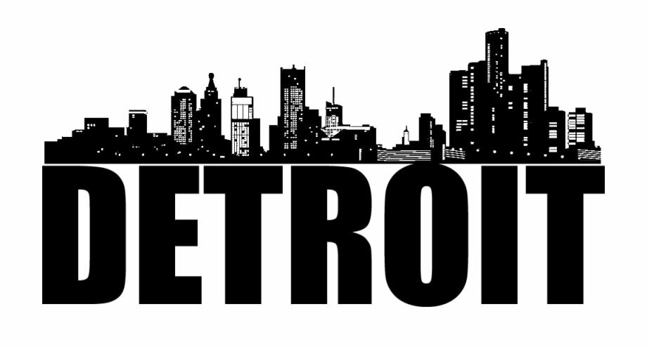 Detroit clipart stock Detroit Mission Trip - Detroit City Skyline Png Free PNG Images ... stock